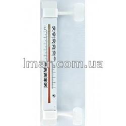 Пластиковый термометр наружный с липучкой