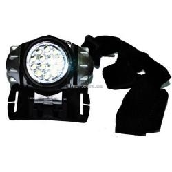 Ліхтар світлодіодний налобний 14 світлодіодів 050-14c