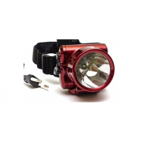 Фонарь светодиодный налобный 1 светодиод YJ-1829-1