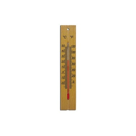 Термометр дерев'яний великий