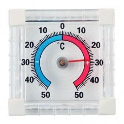 Термометр квадратный, пластик CH207
