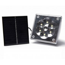 LED светильник на солнечной батарее GD-5017