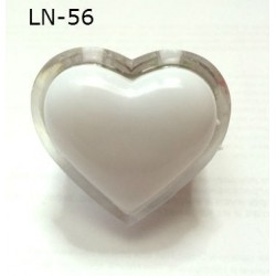 Светильник-ночник сердце LN-56
