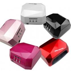 Кристалл многогранник УФ LED+CCFL (36 Вт) гибридная лампа для гель-лаков и геля 10, 30 и 60 сек