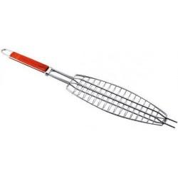 Решетка для рыбы гриль барбекю сетка 160*370