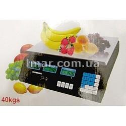 Торговые электронные весы 40 кг