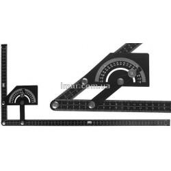 Угломер механический  алюминиевый 0° – 180°