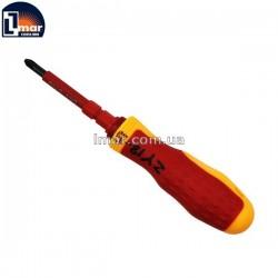 Отвертка диэлектрическая Cr-v PH2+ 200 мм ZY18-5