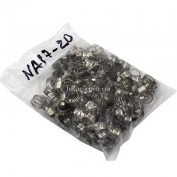 Хомуты металлические 8-12 мм NA17-20