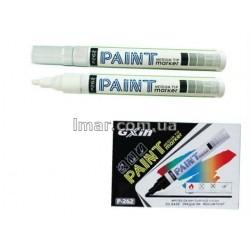 Маркер-краска на масляной основе, 4 мм, P262, PAINT белый круглый