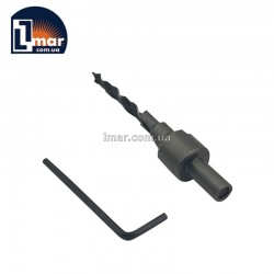 Сверло с зенкером 5 мм для конфирматов 7х70 мм