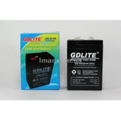 Акумулятор BATTERY GD 645 6V 4A, акумулятор для ваг, ліхтарів, приладів, Акумуляторна батарея, АКБ