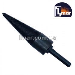 Винтовой колун для колки дров под перфоратор 30х160