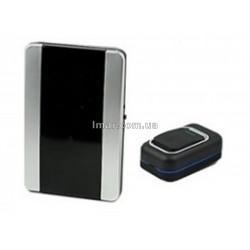 Безпровідний дверний дзвінок Luckarm 3906 Чорний дзвінок 220В