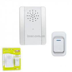 Дверной звонок беспроводной Премиум  3906 белый от сети
