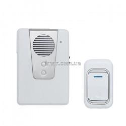 Дзвінок дверний бездротової Luckarm 3903 білий від мережі