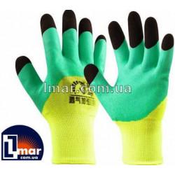 Перчатки нейлоновые Чёрные пальцы