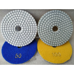 Круг полировальный черепашка - 100 мм №200