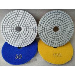 Круг полировальный черепашка - 100 мм №50