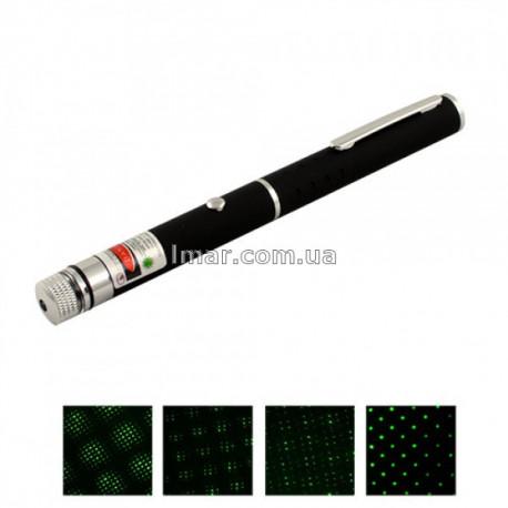 Мощная зеленая лазерная указка 100 мВт.