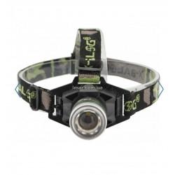 Ліхтар налобний Bailong BL 6902 ліхтарик UF діод