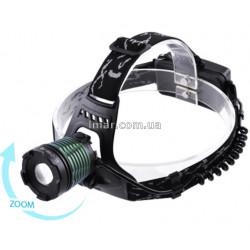 Налобний ліхтар Police BL-2188B-T6
