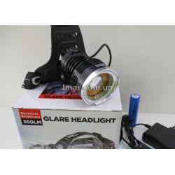 Налобный фонарь X-Balog BL-Т 619-T6
