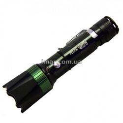 Ліхтар ручний Police BL-313-T6 акумуляторний тактичний Чорний