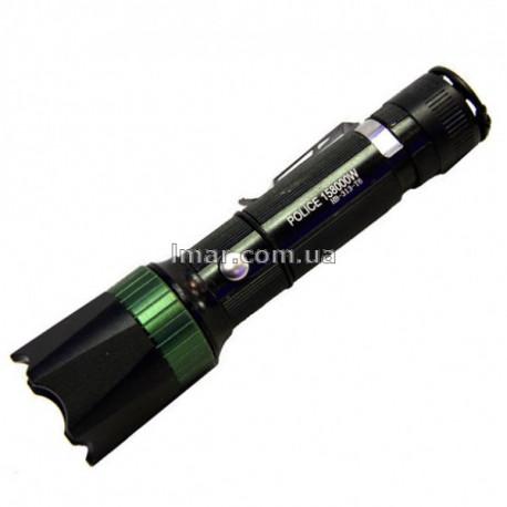 Фонарь ручной Police BL-313-T6 аккумуляторный тактический Чёрный