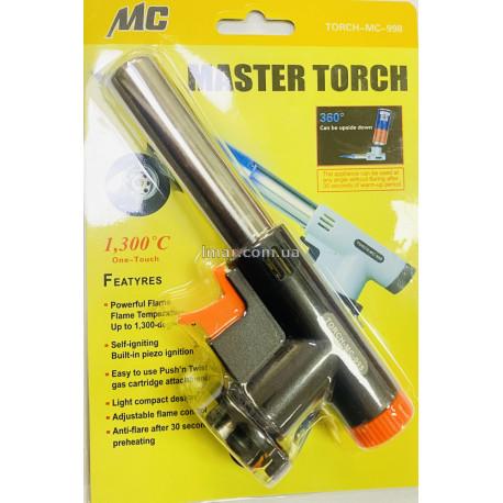 Газовая горелка master torch MC 998