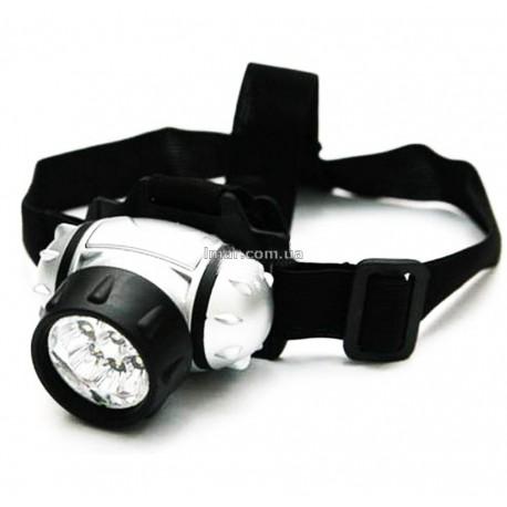 Ліхтар світлодіодний налобний 050-7c