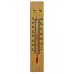 Термометр деревянный большой