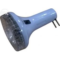 Лампа аккумуляторная фонарь цоколь Е27 11 LED 1892