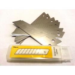 Змінні леза для канцелярського ножа 18 мм