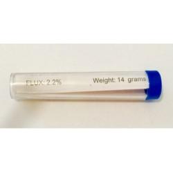 Припой в колбе с канифолью 9,2 грамм, Ø 1 мм 15 гр