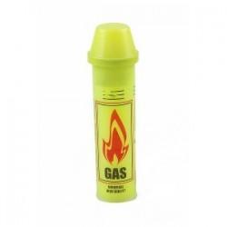 Газ для заправлення запальничок в жовтому