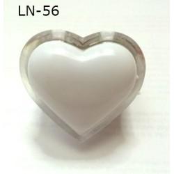 Світильник-нічник серце LN-56