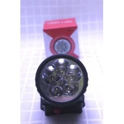 Ліхтарик налобний на батарейках R6 на 5 світлодіодів
