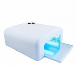 УФ Лампа для сушки гелей и Shellac 818, 36Вт, 4 лампы, таймер на 2 мин., белая-перламутровая