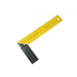Угольник Строительный Желтый  длинна 260мм
