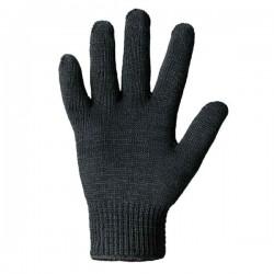 Перчатка двойная тёплая,черная