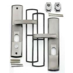 Ручка для металлических китайских дверей YUTL с подсветкой - левая сторона