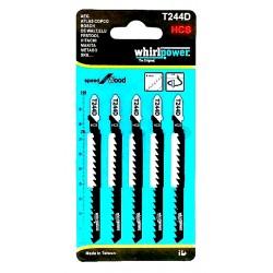 Пилки для электролобзика «WhirlPower» T244D HCS