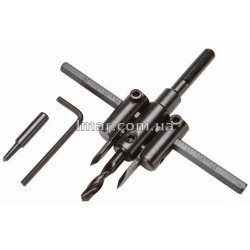Регулируемый режущий инструмент со сверлом 120 мм