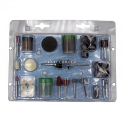 Набор аксессуаров для мини дрелей и граверов (105 предметов)