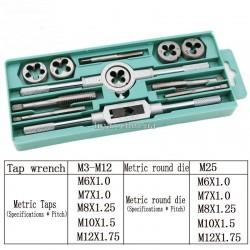 Плашки і мітчики M3-M12