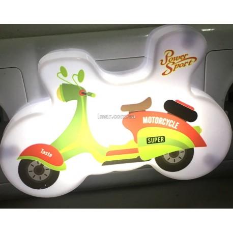 Ночник детский мотоцикл YP-401 оптом