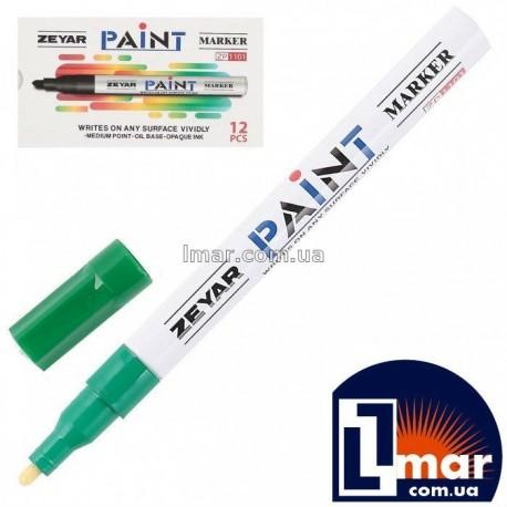 Маркер  маслоной 2,5 мм Zeyar Paint (зеленый)