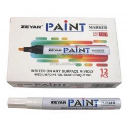 Маркер маслоной 2,5 мм Zeyar Paint (Білий)