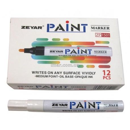 Маркер маслоной 2,5 мм Zeyar Paint (Белый)